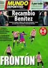 Portada Mundo Deportivo del 22 de Diciembre de 2010