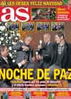 Portada diario AS del 24 de Diciembre de 2010