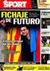 Portada diario Sport del 24 de Diciembre de 2010