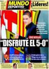 Portada Mundo Deportivo del 24 de Diciembre de 2010