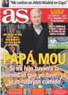 Portada diario AS del 26 de Diciembre de 2010
