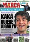 Portada diario Marca del 26 de Diciembre de 2010