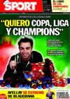 Portada diario Sport del 26 de Diciembre de 2010