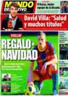 Portada Mundo Deportivo del 26 de Diciembre de 2010