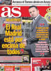 Portada diario AS del 27 de Diciembre de 2010