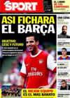 Portada diario Sport del 27 de Diciembre de 2010