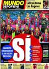 Portada Mundo Deportivo del 27 de Diciembre de 2010