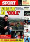 Portada diario Sport del 28 de Diciembre de 2010