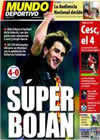 Portada Mundo Deportivo del 29 de Diciembre de 2010