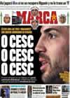 Portada diario Marca del 30 de Diciembre de 2010