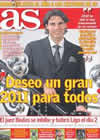 Portada diario AS del 31 de Diciembre de 2010