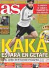 Portada diario AS del 2 de Enero de 2011