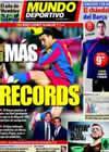 Portada Mundo Deportivo del 2 de Enero de 2011