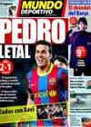 Portada Mundo Deportivo del 3 de Enero de 2011