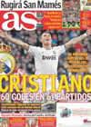 Portada diario AS del 5 de Enero de 2011