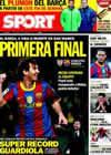 Portada diario Sport del 5 de Enero de 2011