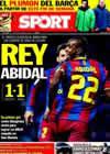 Portada diario Sport del 6 de Enero de 2011