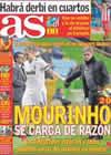 Portada diario AS del 7 de Enero de 2011