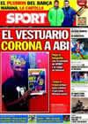 Portada diario Sport del 7 de Enero de 2011