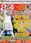Portada diario AS del 8 de Enero de 2011