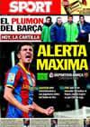 Portada diario Sport del 8 de Enero de 2011
