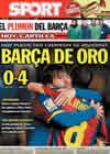 Portada diario Sport del 9 de Enero de 2011