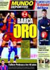 Portada Mundo Deportivo del 9 de Enero de 2011