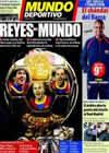Portada Mundo Deportivo del 10 de Enero de 2011