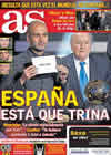 Portada diario AS del 11 de Enero de 2011