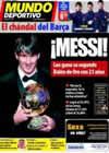 Portada Mundo Deportivo del 11 de Enero de 2011
