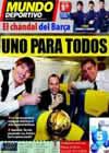 Portada Mundo Deportivo del 12 de Enero de 2011