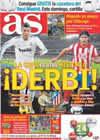 Portada diario AS del 13 de Enero de 2011