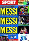 Portada diario Sport del 13 de Enero de 2011