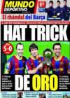 Portada Mundo Deportivo del 13 de Enero de 2011