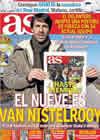Portada diario AS del 15 de Enero de 2011