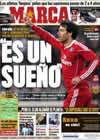 Portada diario Marca del 16 de Enero de 2011