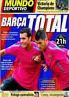 Portada Mundo Deportivo del 16 de Enero de 2011