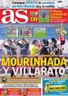 Portada diario AS del 17 de Enero de 2011