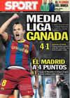 Portada diario Sport del 17 de Enero de 2011