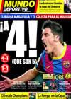 Portada Mundo Deportivo del 17 de Enero de 2011