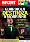 Portada diario Sport del 18 de Enero de 2011