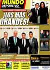 Portada Mundo Deportivo del 18 de Enero de 2011