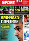 Portada diario Sport del 20 de Enero de 2011