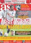 Portada diario AS del 22 de Enero de 2011