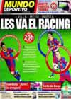 Portada Mundo Deportivo del 22 de Enero de 2011