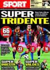 Portada diario Sport del 24 de Enero de 2011
