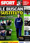 Portada diario Sport del 25 de Enero de 2011