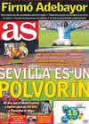 Portada diario AS del 26 de Enero de 2011