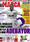 Portada diario Marca del 26 de Enero de 2011