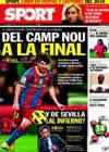Portada diario Sport del 26 de Enero de 2011